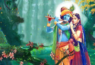Star Bharat Serial Radha Krishna Hd Wallpaper Hindu Gods And Goddesses Krishna Love Radha Krishna Love Krishna