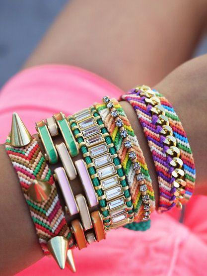 5195e6ed126 Boho Friendship Bracelets ♥ | Jewelry | Friendship bracelets, DIY Jewelry,  Jewelry