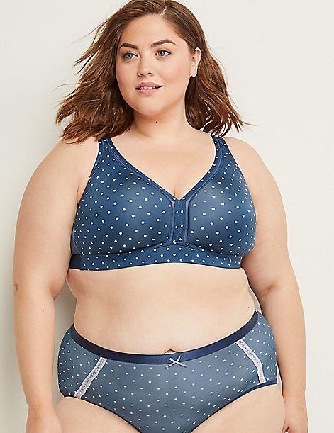 Unlined No Wire Cooling Bra Plus Size Bikini Plus Size Bra