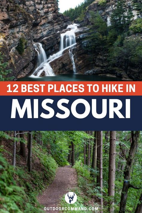 Missouri is home to some of the best hiking in the midwest. Learn more about the best hiking trails with this in-depth hiking guide! Hiking Trails In Missouri, Missouri Camping, Hiking Places, Hiking Spots, Hiking Guide, Camping And Hiking, Backpacking, Springfield Missouri, Branson Missouri