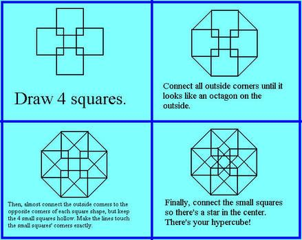 how to draw a hypercube - Google Search | Drawings, Draw, Geometric design