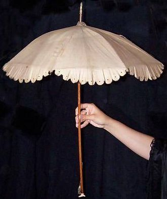 Victorian Parasol antique umbrella antique parasol 1860 Handle Parasol