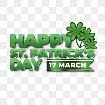 Saint Patricks Day 3d Text Element Saint Patrick S Day Patrick S Day Element Png Transparent Clipart Image And Psd File For Free Download In 2021 St Patricks Day St Patricks Day Quotes