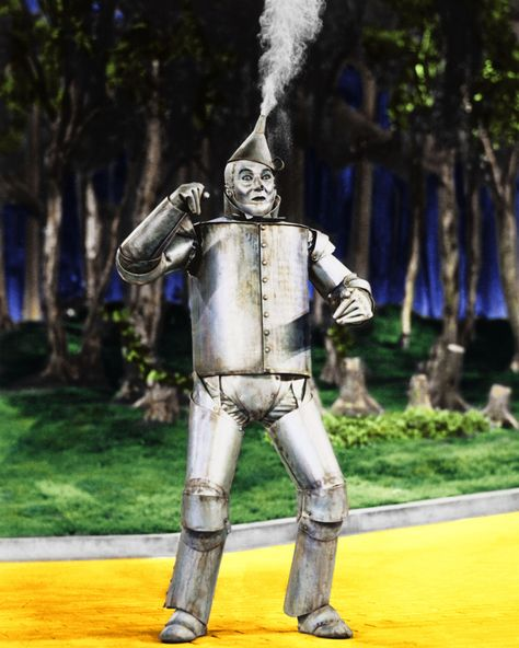 "Jack Haley in ""The Wizard of Oz"" (1939)----    John Joseph ""Jack"" Haley ( 1898 – 1979) was an American stage, radio, and film actor best known for his portrayal of the Tin Man in the now-classic film The Wizard of Oz."