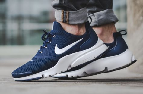 The New Nike Air Presto Fly Also Debuts In Midnight Navy Nike Air Nike Best Sneakers