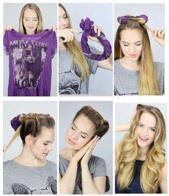 Easy Overnight Hairstyles Overnight Hairstyles Wavy Hair Overnight Hair Styles