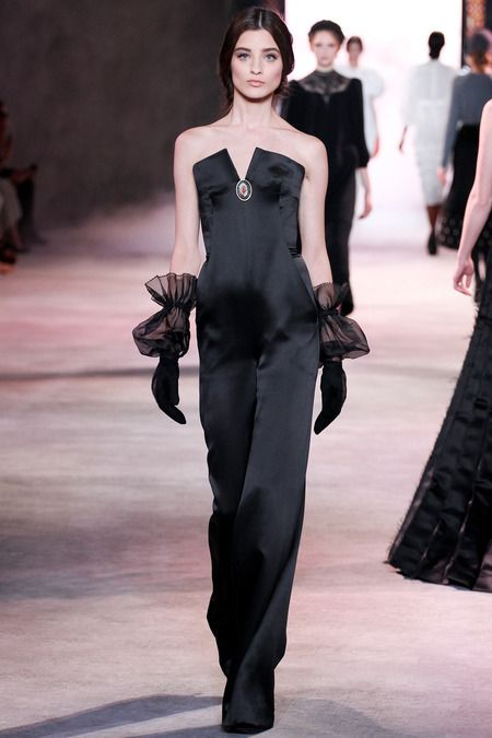 Ulyana Sergeenko - Haute Couture Fall Winter - Shows - Vogue.it TG