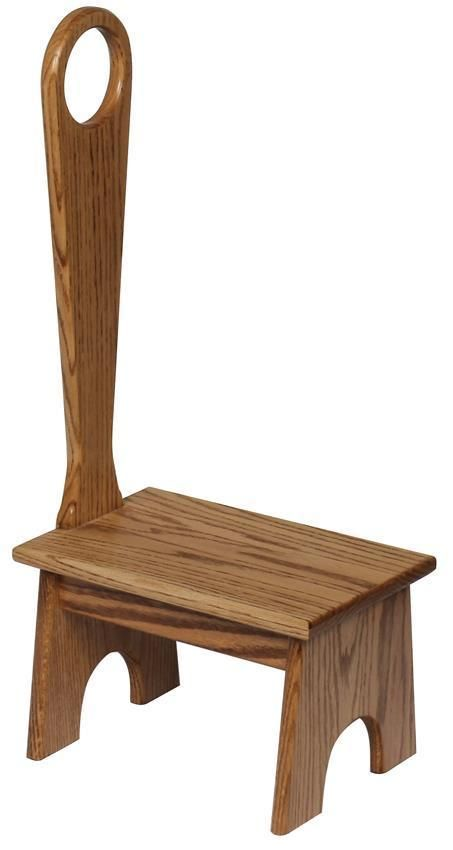 Amish Hardwood Bench With Handle Wooden Step Stool Step Stool Wood Step Stool Wooden step stool with handle