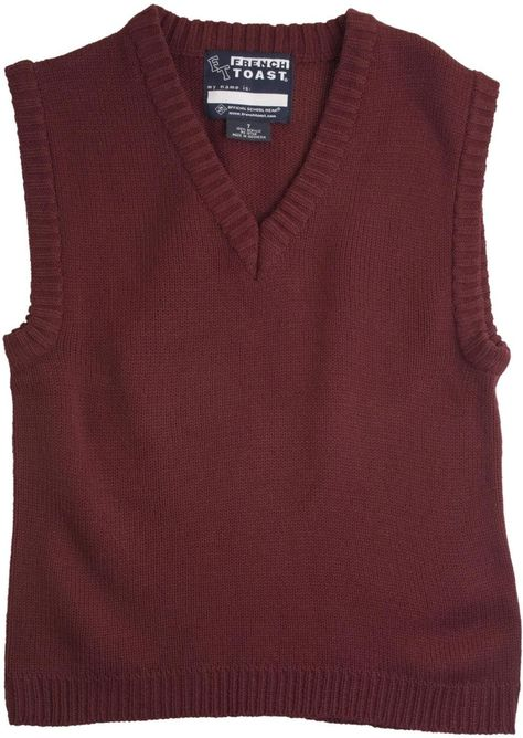 French Toast Boys V-neck Sweater Vest Sweaters Clothing, Shoes & Jewelry