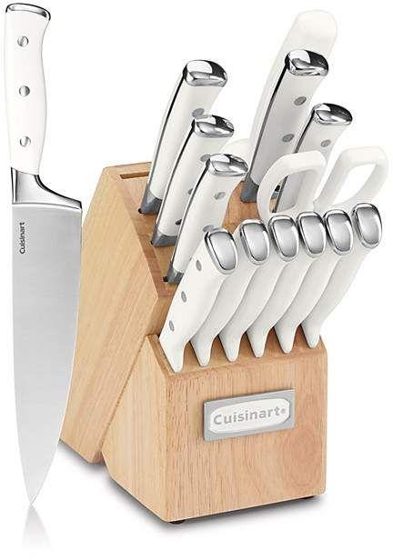 Cuisinart Triple Rivet 15 Piece Cutlery Block Set Knives Kitchen Food Cooking Affiliate Cutlery Set Cuisinart Knife Sets