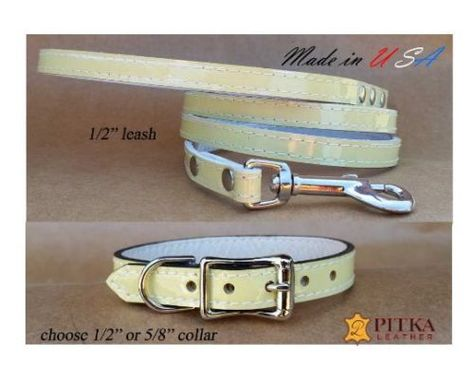 Details About Small Dog Collars And Dog Leashes Cute Collars For