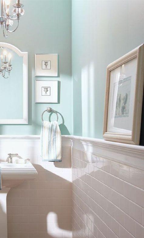 8 enlightening color ideas for windowless bathroom  easy