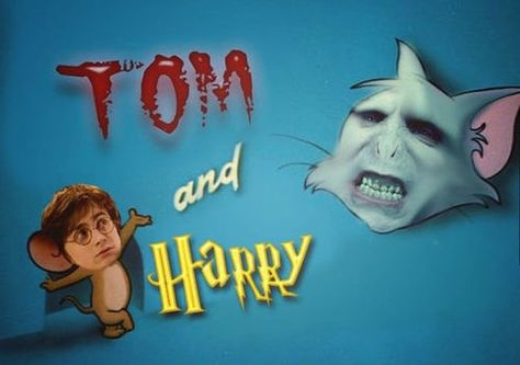 The Tom and Harry show.