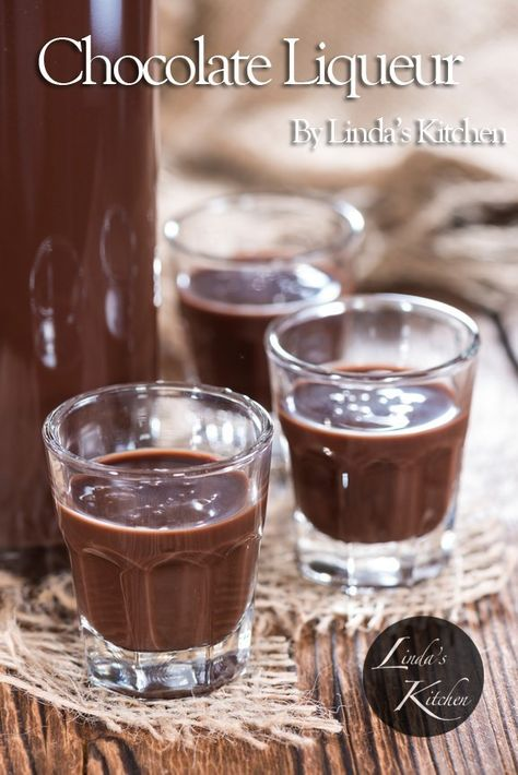 Make your own chocolate liqueur