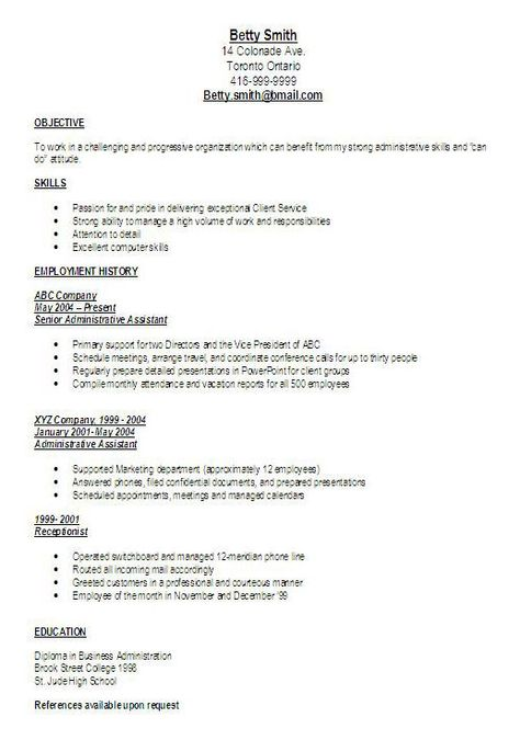 executive administrative assistant resume examples free job home