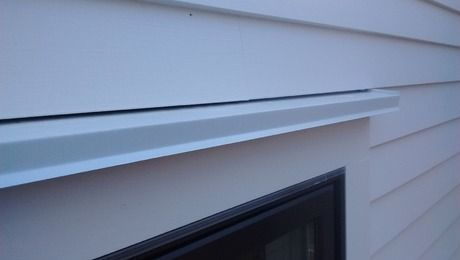 Window Head Trim And Drip Cap Siding Trim Building A House Garage Door Trim