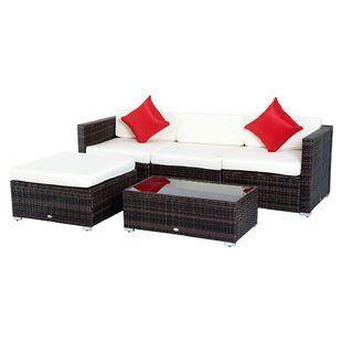 Modern Outdoor Furniture Sale Allmodern Outdoor Sofa Sets