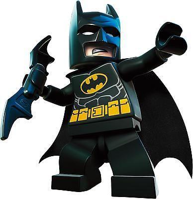 Lego Superhero Set Superman Spiderman Batman Wall Stickers Decal Childrens Boy Ebay Lego Batman Batman Wall Lego Movie Characters