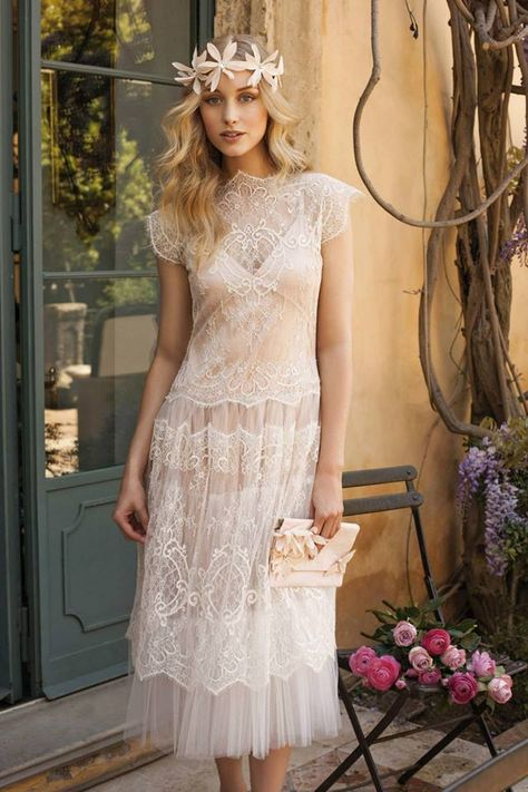 Bohemian Lace Gown // Rembo Styling
