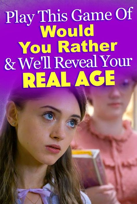 """Personality Quiz: How old are you really? Take this fun """"would you rather"""" quiz game and we'll reveal your TRUE age! Quiz Buzzfeed, personality quiz, fun quiz, personality traits, Myers Briggs, would you rather questions, Playbuzz quizzes If you love personality quizzes, then this one is right up your alley! Are you an old soul or young at heart? Find out now!"""