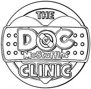 Doc Mcstuffins Clinic Tour Logo Coloring Page Http Wecoloringpage Com Doc Mcstuffins Clin Doc Mcstuffins Coloring Pages Doc Mcstuffins Clinic Coloring Pages