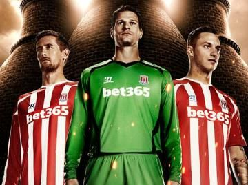 e7fcc423d Stoke City 2014 15 Warrior Home and Away Kits