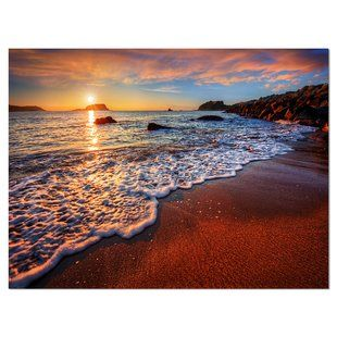 Wall Art You Ll Love Wayfair Ocean Beach Beach Wall Murals Ocean Wall Art