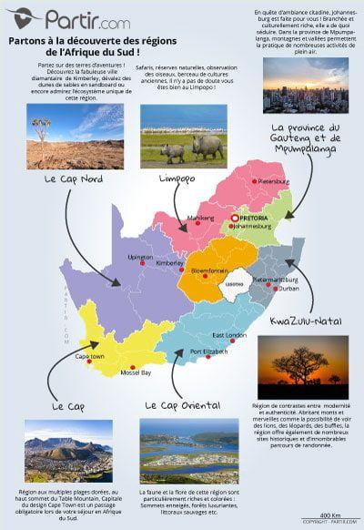 Carte Des Regions Afrique Du Sud Carte Afrique Carte Afrique Du