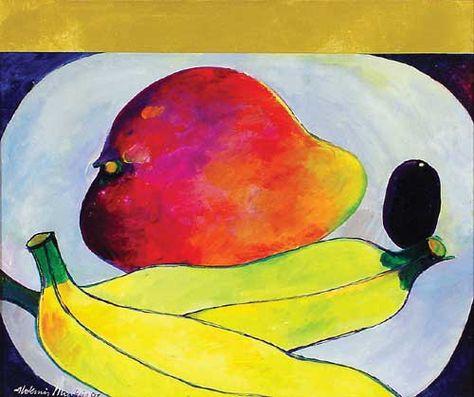 Sonia Delaunay Kunstpostkarte Illustration
