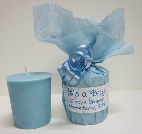 10 Baby Shower Favors Baby Powder Scented Soy Votives by soylady