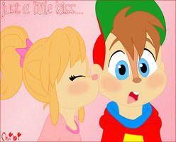 Just A Little Kiss By Gleefulchibi With Images Chipmunks