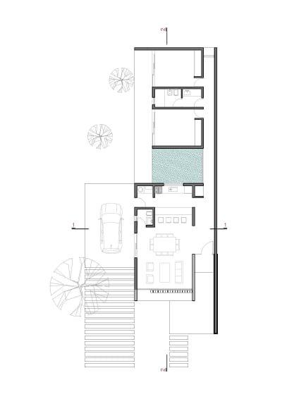Agustin Lozada Gonzalo Viramonte 2 Low Cost Houses Low Cost House Plans Narrow House Plans Low Cost Housing