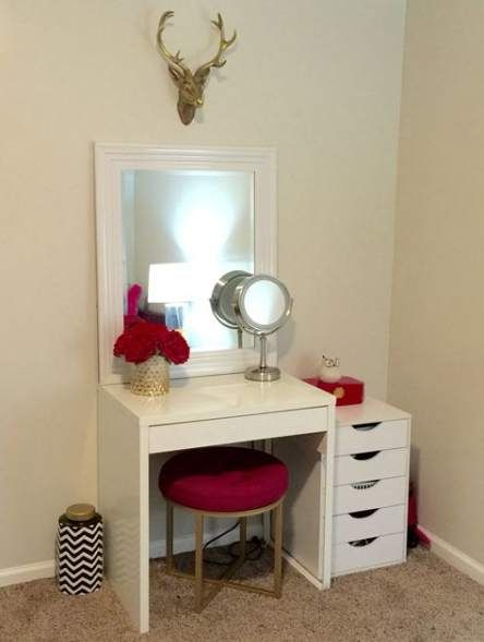Makeup Vanity Colors Small Spaces 29 New Ideas Makeup Makeup