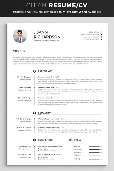 What Does A Professional Resume Look Like 2020 ...
