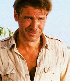 My heart literally pounds anytime I see a picture of Harrison Ford, especially…