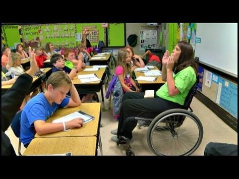 Photographer Editor Anthony Moore Reporter Britton Lynn Birmingham Al Wbrc Although Courtney Boyll S Paralyzed From Special Education Education Teacher