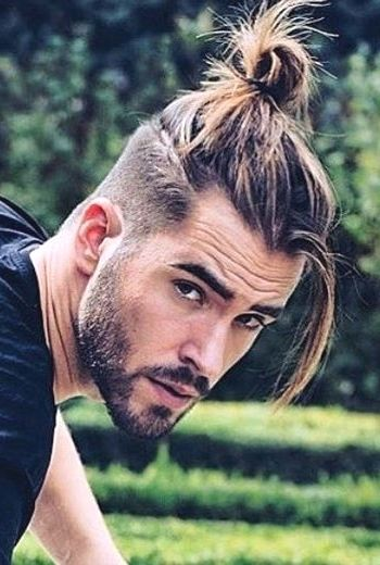 The Best Men S Ponytail Hairstyles For 2019 26 Ultimate Picks Long Curly Hair Men Curly Hair Men Hair Styles