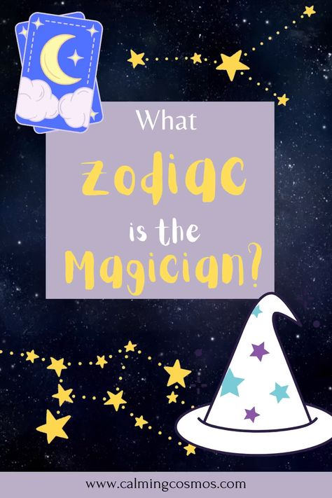 In this article you'll learn what zodiac sign the Magician tarot card represents! #tarot #tarotfacts #themagiciantarot #zodiacastrology #zodiacfactsall #zodiacthings #zodiacfacts #allzodiacsigns #zodiactruths #zodiacfunny #zodiacsquads #zodiactraits #zodiacmatches #smartestzodiacsign #strongestzodiacsign #mostbeautifulzodiacsign #nicestzodiacsign #bestzodiacsign #zodiacsigns