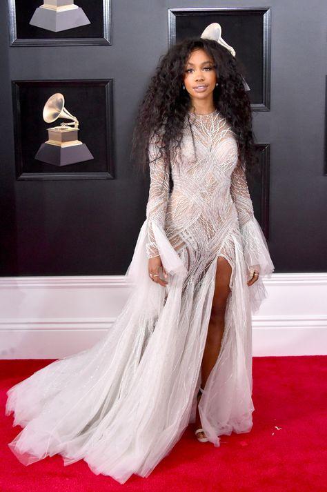 Grammy Awards 2018 Les Stars Sur Le Tapis Rouge Robe De Star