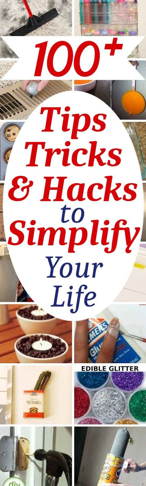 102 Tips, Tricks, & Hacks To Simplify Your Life