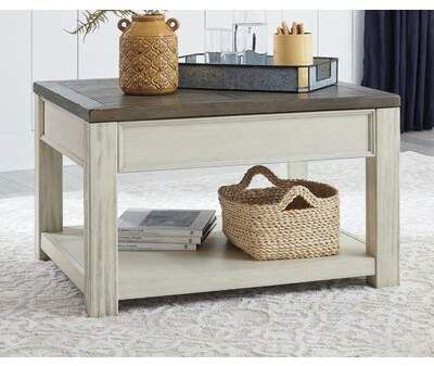 Gracie Oaks Huson Lift Top Coffee Table In 2020 Lift Top Coffee Table Weathered Oak Coffee Table With Storage