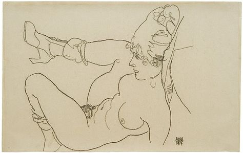 Epingle Sur Egon Schiele