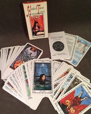 Details about Vintage A F  Art Fair Astro Tarot Card Deck 1970