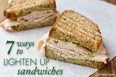 7 Ways to Lighten Up Sandwiches