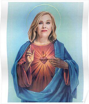 Jesus Moira Rose Poster American Horror Story Funny Jessica Lange Ahs