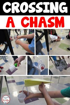 A STEM Challenge featuring a rescue! Kids love these real-life events. In this one they must build s device to cross a chasm powered by the WIND! Includes teacher directions, photos, and lab sheets! (Do after reading The Honest Truth?