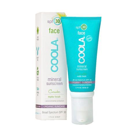 Coola Sport Mineral Sunscreen Spf 30 Citrus Mimosa Cucumber For Face Tinted Moisturizer Facial Sunscreen