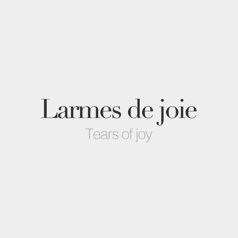 """Larmes de joie (feminine word) • Tears of joy • /laʁm də ʒwa/ Our online boutique is OPEN! Click the link in our bio and shop our beautiful prints and our gorgeous notebook! 10% off your first order with the promo code """"BONJOURFW""""."""