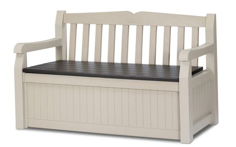 Keter 186300 70 Gallon Garden Bench Box With Images Outdoor