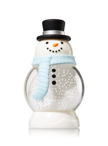 Snowman Topper Pocketbac Holder Bath And Body Works Bath And